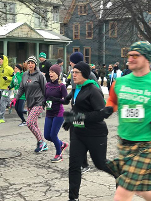 The 17th Annual St. Patrick's Day 4 mile road race