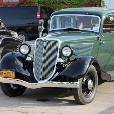 Johnson City Car show