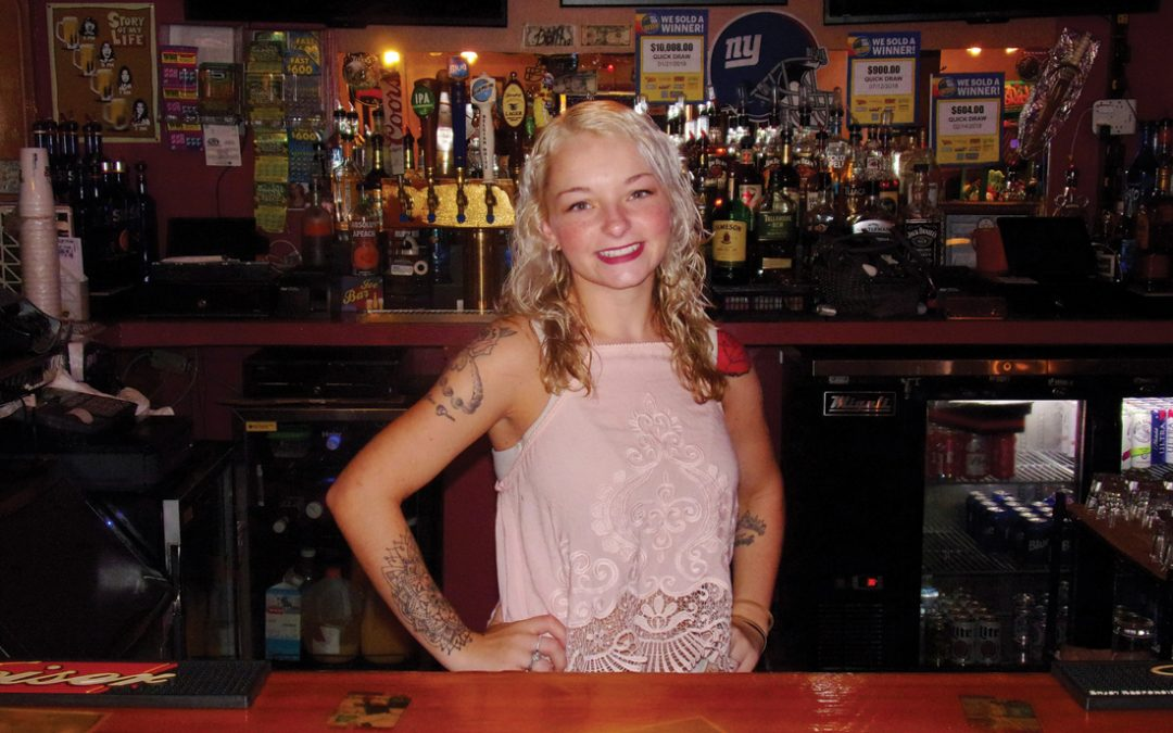 September Bartender  –   Brittani Biermann