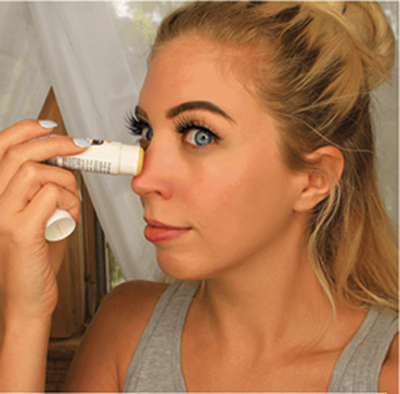 Get The Look : How to Heal & Conceal a sunburnt face