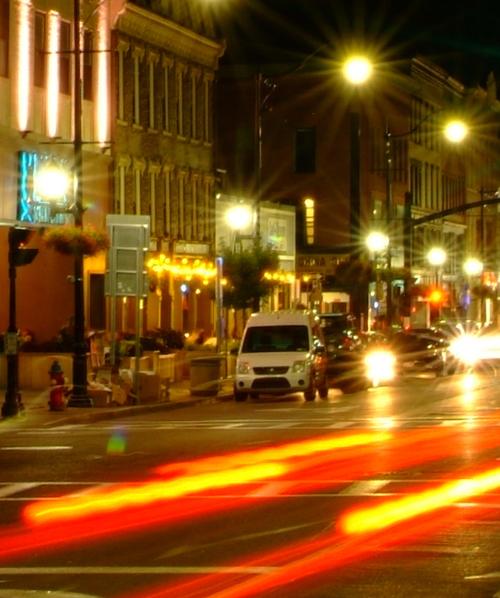 Binghamton at Night