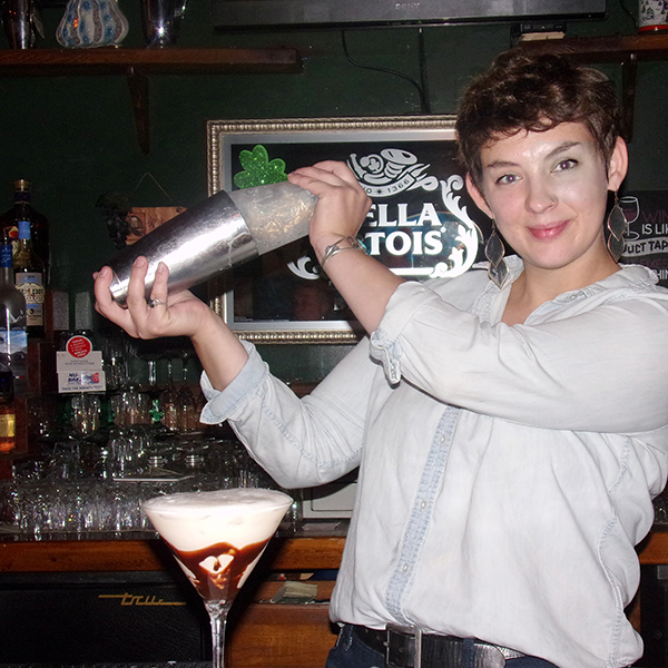 October's Bartender of the Month:  Paige Roberts