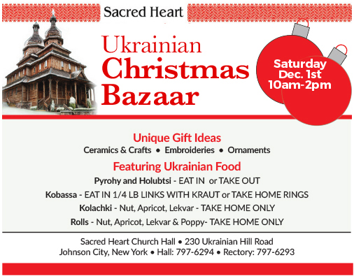 ukrainian christmas bazaar
