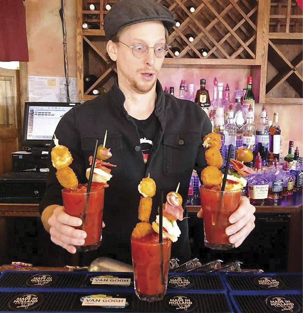 Issue 10 February 2019 Bartender of the Month: Joshua Sedelmeyer
