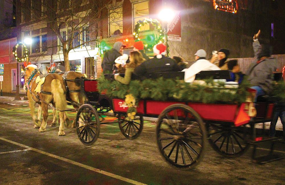horse and buggy ivory christmas binghamton ny