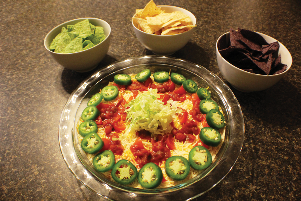Neighborhood Chef: Chris Baker's Tailgate Taco Dip
