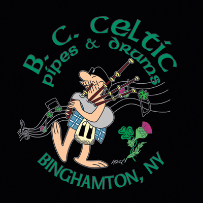 The Broome County Celtic Pipes & Drums Band