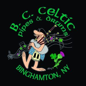 The Broome County Celtic Pipes & Drums Band logo
