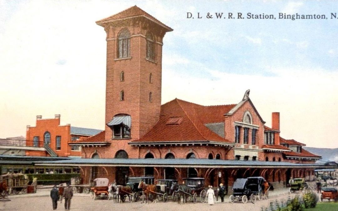 The Delaware, Lackawanna & Western  Railroad Station