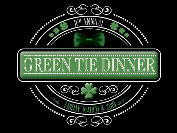 11th  Annual Green Tie Dinner